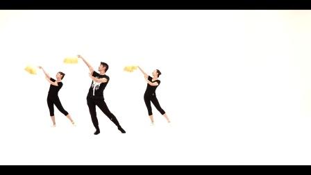青年舞蹈家邓斌原创作品《弹起我心爱的土琵琶》正面演示