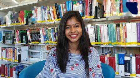 来自斯里兰卡的Suwini就读于MBS的MSc in data science