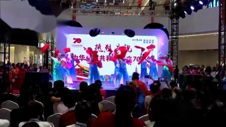 2.金坛区排舞协会全民健身成果展示节目:吾悦广场健身舞蹈队《踏歌起舞的中国》
