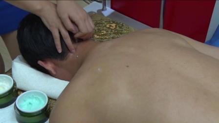 美容师培训视频:肩颈调理全套手法