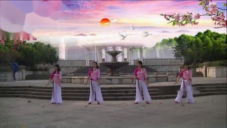 冰莲广场舞原创舞蹈《相遇那么美》