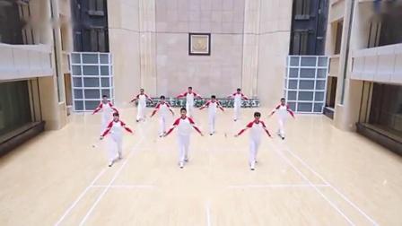 柔力球大型广场表演套路《赢未来》口令分节