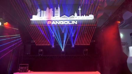 2.用GrandMA灯光控台创建的激光表演