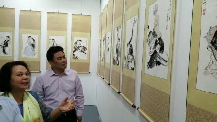 尹麦清作品参加北京艺博会