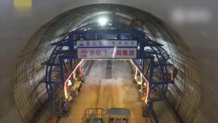 3分钟带你看完高铁隧道施工
