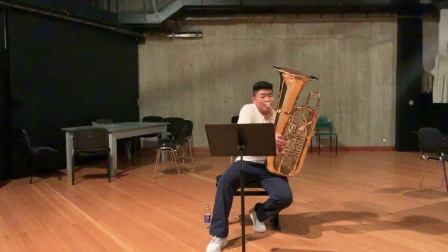 K.Penderecki Capriccio for Solo Tuba (大号独奏)