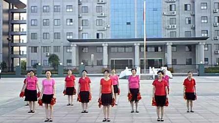 五三中老年健身舞队  美观_标清
