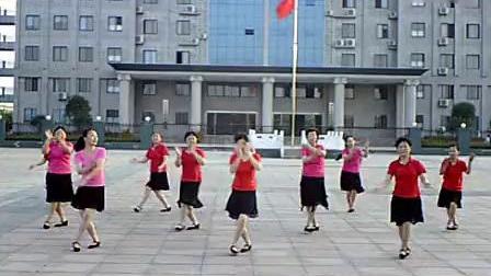 五三中老年健身舞队  桃花谣_标清