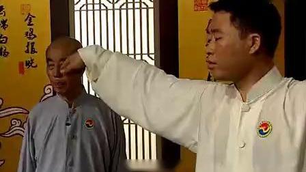 健身气功导引养生功十二法功法教学09. 第八式 金鸡报晓