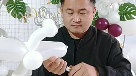 长条气球教程128  小鬼 万圣节幽灵