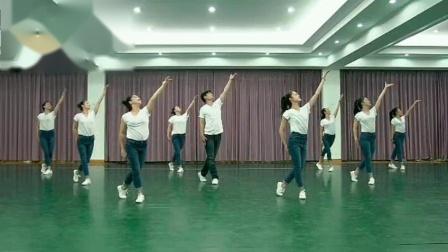 第十九届江苏省运动会会歌《所有人都成功》广场舞规范动作演示
