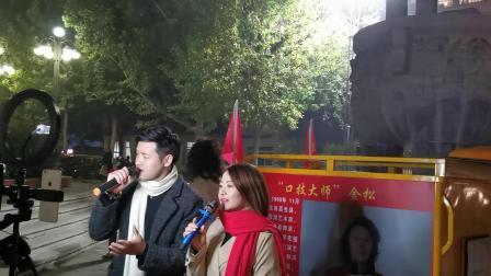 CCTV牛恩发现之旅:囗技达人吉尼斯世界纪录保持者现身昊天广场(北京)。