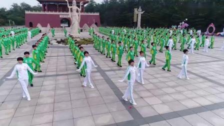 神鹤起飞科学运动健身操(舞)第七套_高清(0)