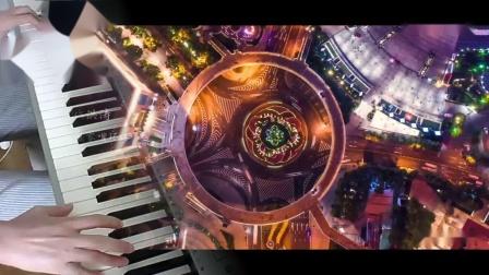 电子琴演奏——《我爱你中国》