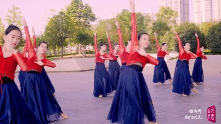 单色舞蹈(武汉)02期中国舞暑期集训班学员作品