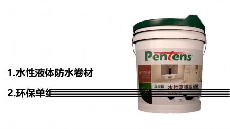 Pentens 平坦适高弹性液体卷材 拉力测试