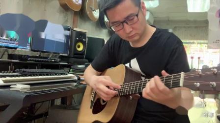 韩凛音乐 平凡之路 指弹吉他:韩凛