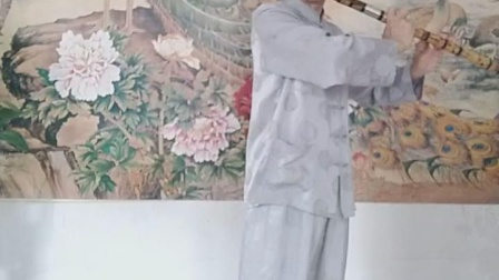 九峰闲人用低音大笛吹奏二泉映月