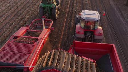 GT 170和MultiTrailer: 马铃薯高效收获和田间物流解决方案