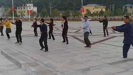 清溪乡太极拳培训班