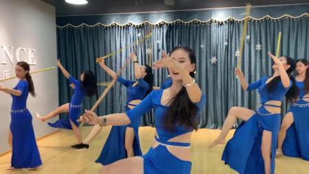 厦门PD东方舞工作室 帅气又漂亮的Saidi藤杖 教室版 关昭老师