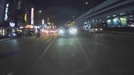 Mio M760D rear cam_nightime recording