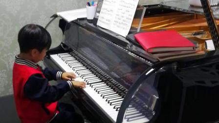 巴赫二部创意曲第一首——林辰乐