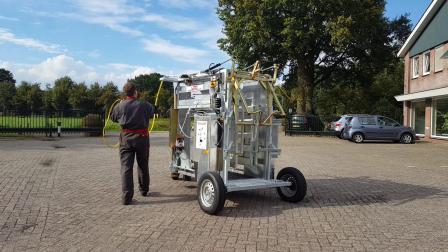 修蹄机遥控带轮装置展示