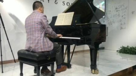 苏显亮弹阿根廷作曲家 Julián Aguirre - Tristes 悲歌 No. 3