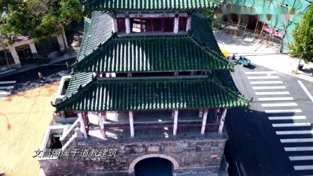航拍了高青县的文昌阁,文昌阁到处有,这里的有啥不一样?
