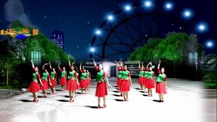 玛域姑娘 编舞 雨夜 演绎 汕尾马宫海之蓝健身队