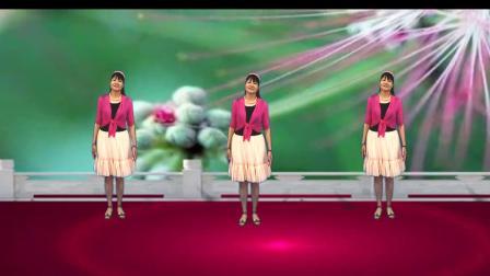 舞韵含香广场舞《绒花》  编舞:应子