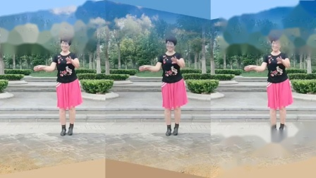 安阳金东姐妹广场舞《太阳出来照四方》编舞深圳芳芳演示蓝天白云