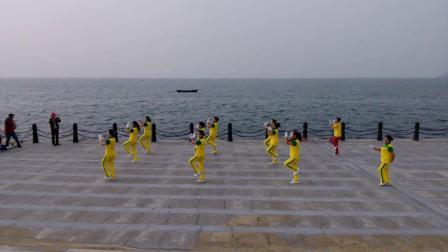 烟台丽影操舞,健身操组合版,广场操,苗乡侗寨请你来,