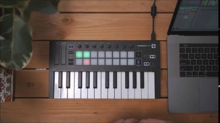 Novation // Launchkey Mini Mk3 录制/MIDI回溯