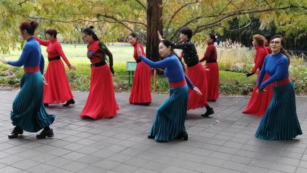 北京紫竹院魅力朵朵舞蹈队广场舞《那一天》
