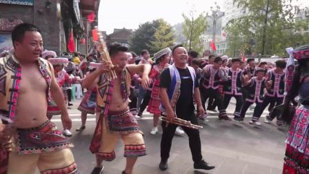 兴文县鼠岁苗年节--苗族集体舞大联欢