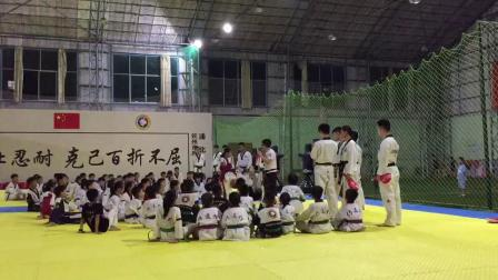 中國式跆拳道J系統訓練(浦北黑帶少年團練)
