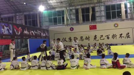 中國式跆拳道J系統訓練(浦北黑帶少年)