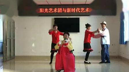 新惠社区阳光艺术团--下雪了  演唱者 吴粉子