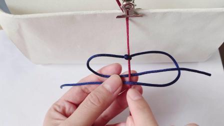 【鹿儿手作】2单向平结 制作方法 绳结编法教程