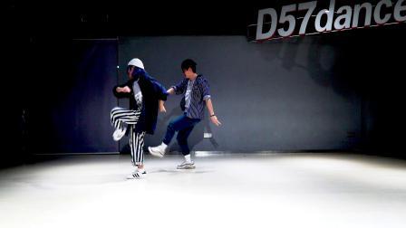 【D57舞蹈工作室】JOANNA&大聪《画》舞蹈视频