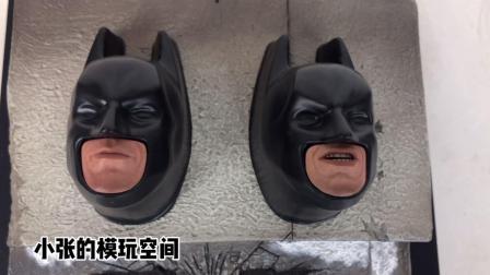 3000多的老产物!【小张的模玩空间】HOTTOYS DX12 1/6蝙蝠侠 黑暗骑士! hottoys 蝙蝠侠 DC