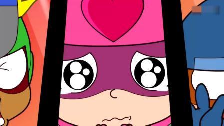开心超人:超人们找到了时空怪,开心超人说时空怪欺负小孩!开心超人用开心铁拳攻击时空怪,结果时空怪把开心超人吞了!