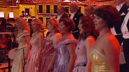 安德烈瑞欧现场教学西班牙语,《Granada》的观众都学会了