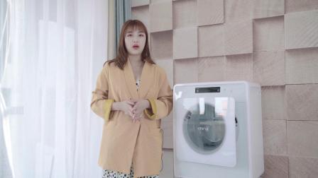 既能有效杀菌又能呵护衣物,小吉迷你洗衣机完美解决宝妈洗衣难题