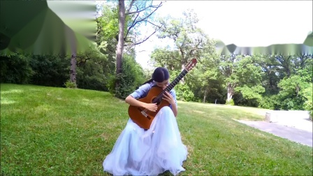 樊菲儿古典吉他演奏——《森林之梦》