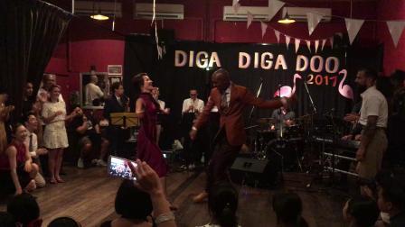 Diga Diga Doo 2017 teachers social dance