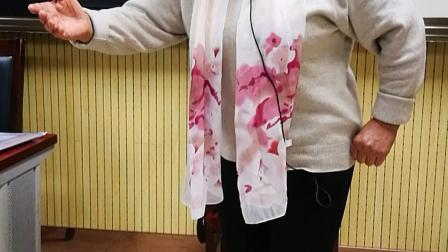 孔桂荣老师演唱豫剧《老身居住在河东》