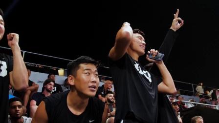 吉达大师赛投篮大赛冠军——张智扬